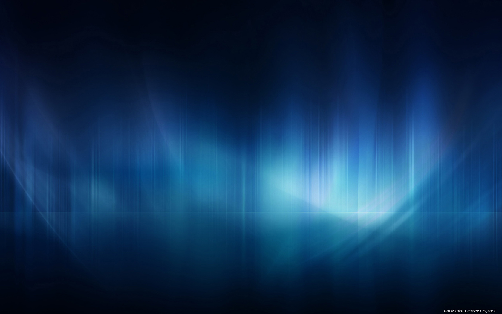 Blue Abstract Wide Wallpaper 1680x1050 010